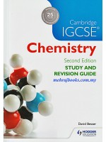 Cambridge IGCSE Chemistry Study and Revision Guide Second Edition
