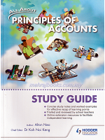 All About Principles of Accounts Study Guide