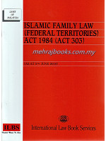 Islamic Family Law (Federal Territories) Act 1984 (Act 303)
