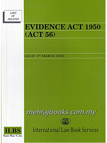 Evidence Act 1950 (Act 56)