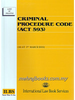Criminal Procedure Code (Act 593)