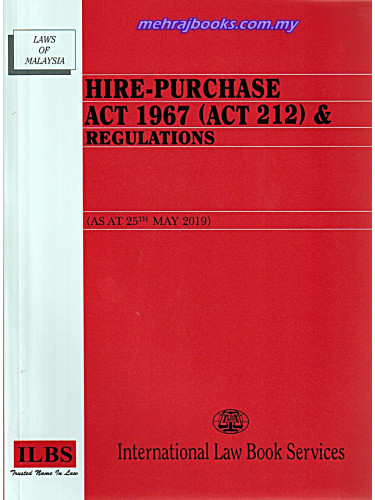 Hire - Purchase Act 1967 (Act 212) & Regulations