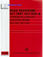 Road Transport Act 1987 (act 333) & Commercial Vehicles Licensing Board Act 1987 (act 334)
