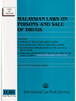 Malaysian Laws On Poison and Sale of Drugs