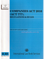 Companies Act 2016 (Act 777), Regulations & Rules