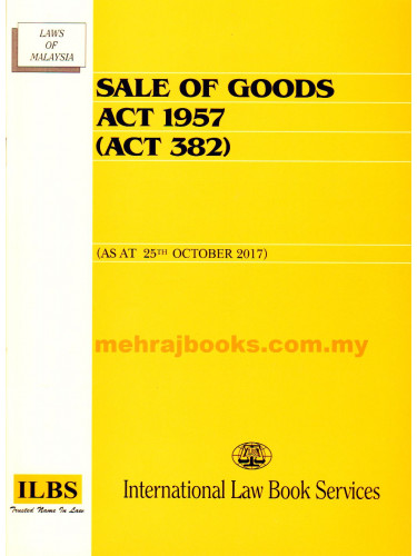 Sale of Goods Act 1957 (Act 382)
