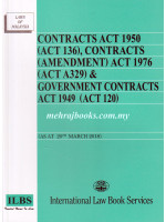 Contracts Act 1950 (Act 136), Contracts (Amendment) Act 1976 (Act A329) & Government Contracts Act 1949 (Act 120)