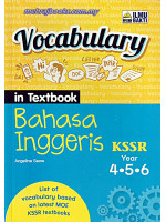 Vocabulary In Textbook Bahasa Inggeris Year 4-5-6