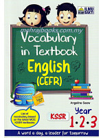 Vocabulary In Textbook English (CEFR) Year 1-2-3