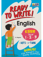 Ready To Write! English KSSR Year 1-2-3