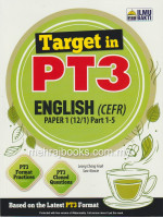 Target in PT3 English (CEFR) Paper 1(12/1) Part 1-5
