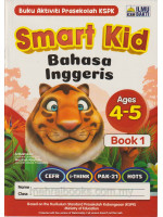 Smart Kid Bahasa Inggeris Ages 4-5 Book 1