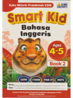 Smart Kid Bahasa Inggeris Ages 4-5 Book 2