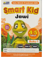 Smart Kid Jawi 4-5 Tahun Buku 1
