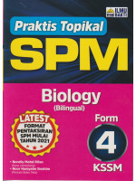 Praktis Topikal SPM Biology Form 4-Bilingual