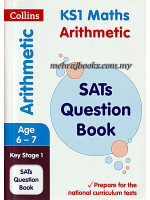Collins Arithmetic Age 6-7 Key Stage 1 SATs Question Book