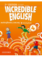 Incredible English  Activity Book 4