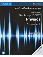 Cambridge IGCSE Physics Coursebook Second Edition with CD-ROM