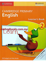 Cambridge Primary English Learner's Book 2