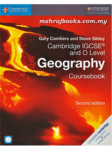 Cambridge IGCSE and O Level Geography Coursebook Second Edition With CD-ROM