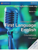 Cambridge IGCSE First Language English Coursebook Fifth Edition