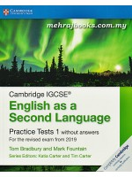 Cambridge IGCSE English As A Second Language Practice Tests 1 Without Answers