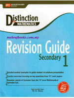 Distinction in Maths Revision Guide Secondary 1