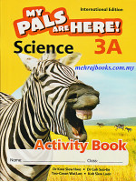 My Pals Are Here! Science Activity Book 3A