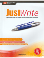 Justwrite Composition Guide for Lower Secondary and Integrated Programme
