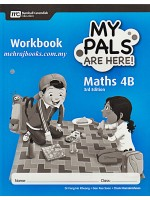 My Pals Are Here ! Maths 4B Workbook 3rd Edition