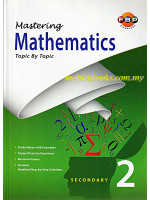Mastering Mathematics Topic by Topic Secondary 2