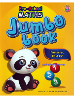 Pre-School Maths Jumbo Book Nursery, K1 & K2