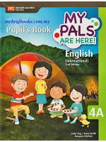 My Pals Are Here ! English (International) 2nd Edition Pupil's Book 4A
