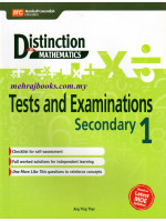 Distinction in Maths Test and Examinations Secondary 1