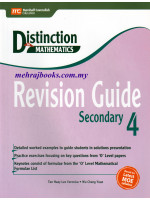 Distinction in Maths Revision Guide Secondary 4