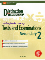 Distinction in Maths Test and Examinations Secondary 2