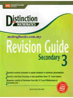 Distinction in Maths Revision Guide Secondary 3