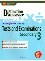 Distinction in Maths Test and Examinations Secondary 3