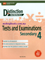 Distinction in Maths Test and Examinations Secondary 4