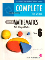 Complete Text & Guide Mathematics Year 6