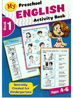 My Preschool English Activity Book 1 Ages 4-6