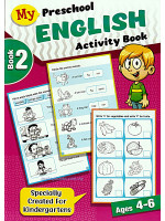 My Preschool English Activity Book 2 Ages 4-6