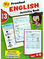 My Preschool English Activity Book 3 Ages 4-6