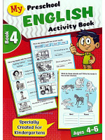 My Preschool English Activity Book 4 Ages 4-6