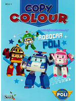 Robocar Poli Copy Colour Robocar Poli-1