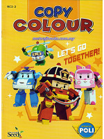 Robocar Poli Copy Colour-Lets Go Together
