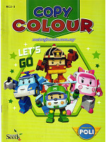 Robocar Poli Copy Colour-Lets Go