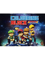 Colouring Block Boboiboy Galaxy 1