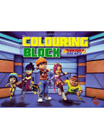 Colouring Block Boboiboy Galaxy 2