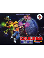Colouring Block Boboiboy Galaxy 3